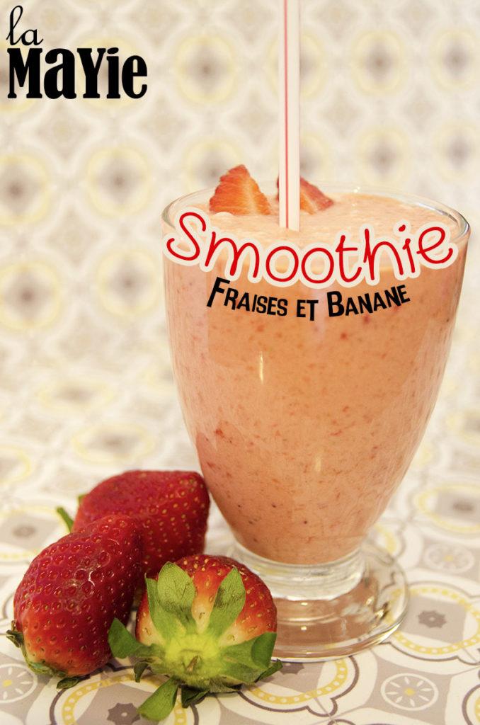 recette smoothie fraise