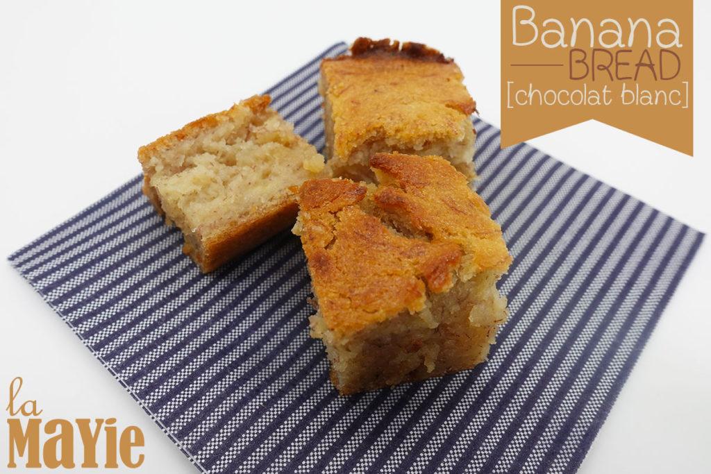 banana bread chocolat blanc