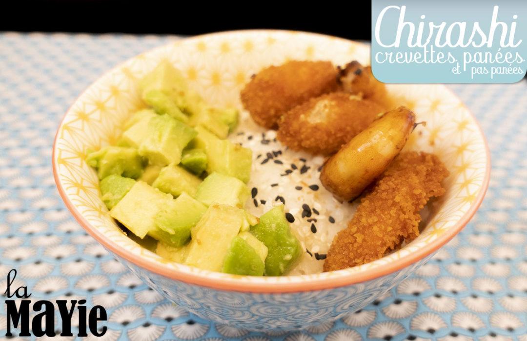 chirashi crevettes