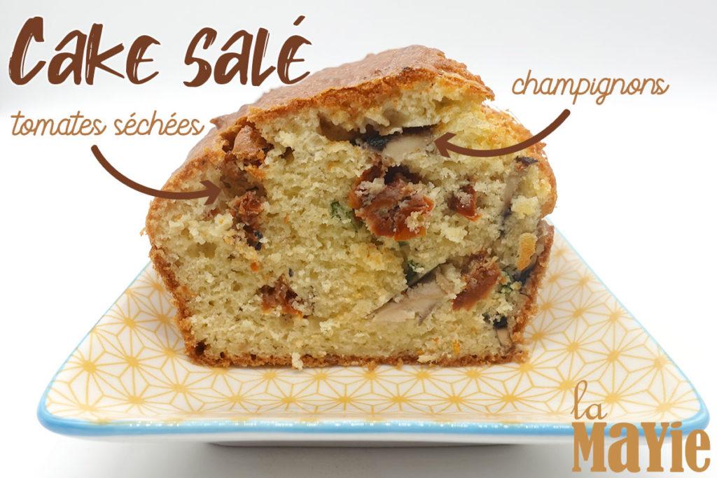recette cake salé végétarien