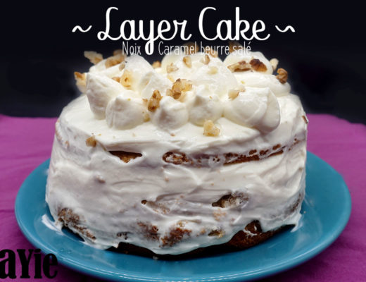 recette layer cake noix