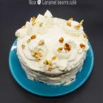 recette layer cake noix caramel beurre salé
