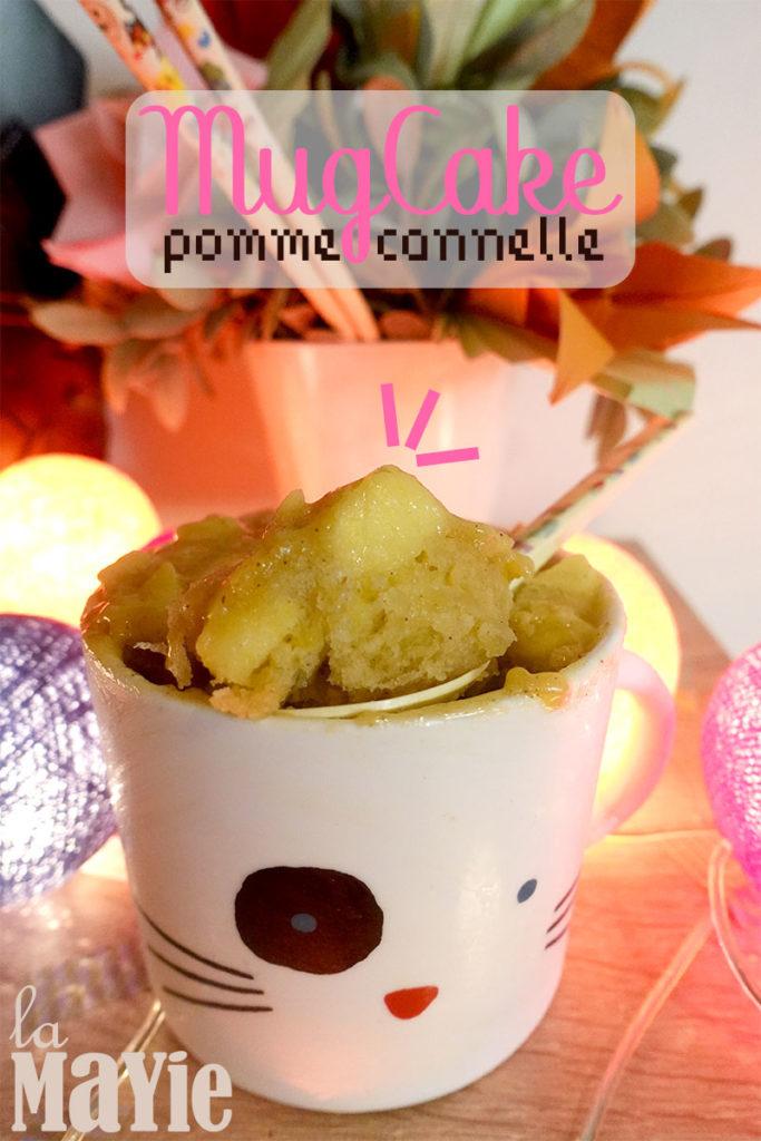 recette mug cake pomme