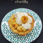 recette tartelette pomme poire chantilly maison